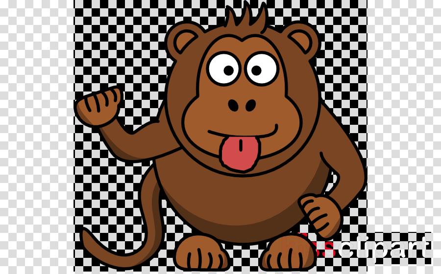 Cartoon Monkey Clipart Primate Monkey Clip Art.