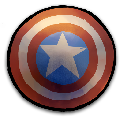 Shield Marvel Save Icon Format #23577.