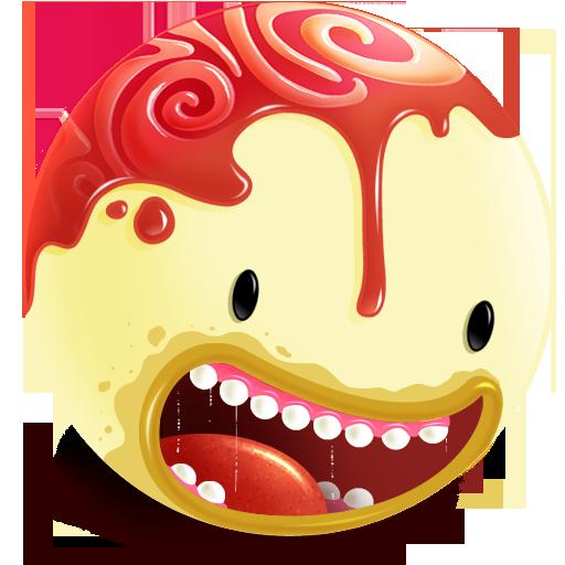 Freaky head Icon.