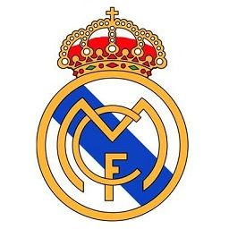 Real Madrid logo for dream league soccer.