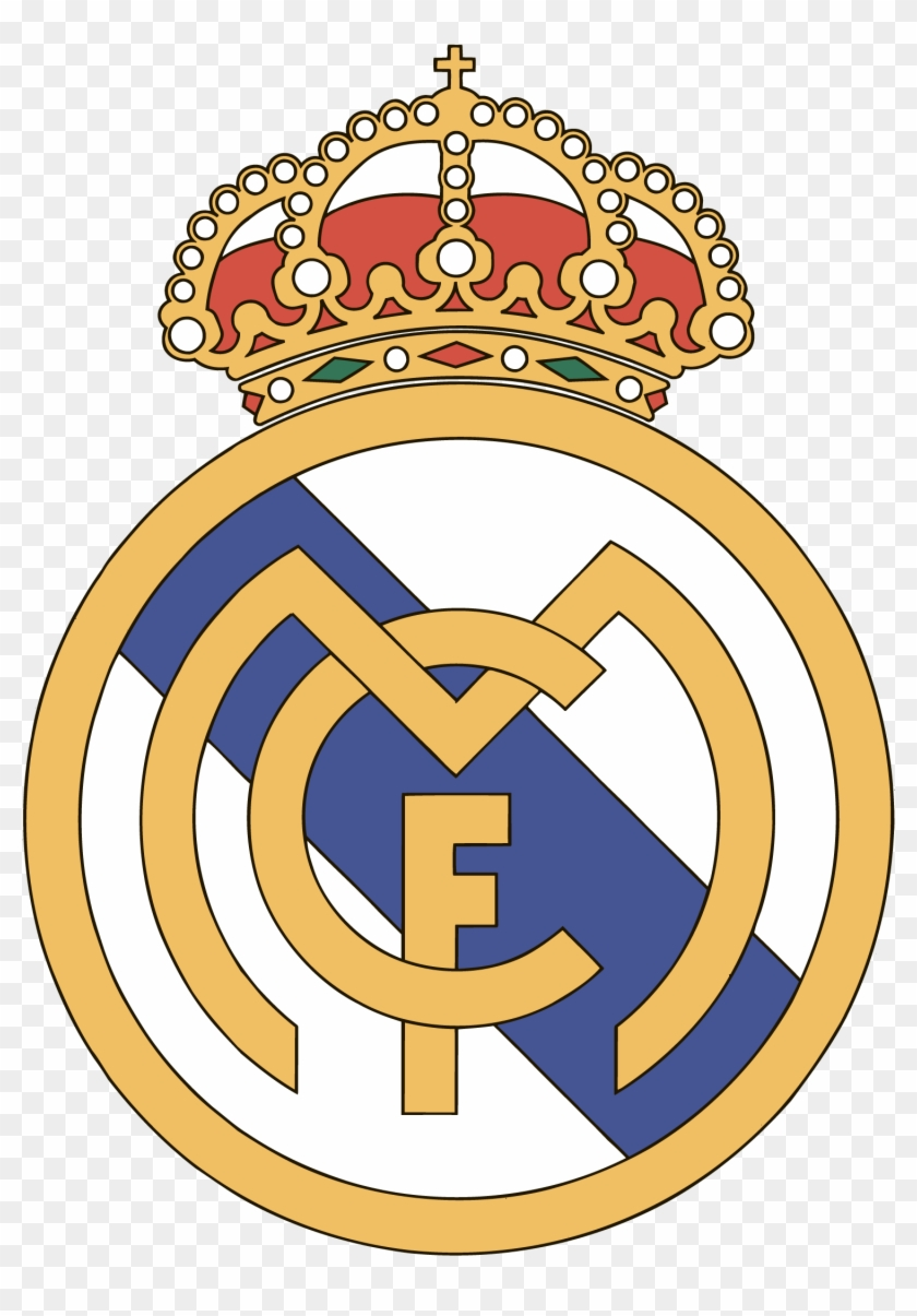 Real Madrid C F Logo Png Transparent.