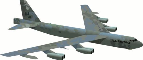 B 52 clipart.