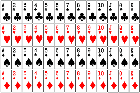 Playing cards probability.