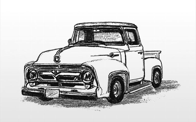 54 ford pickup clipart clipart images gallery for free.