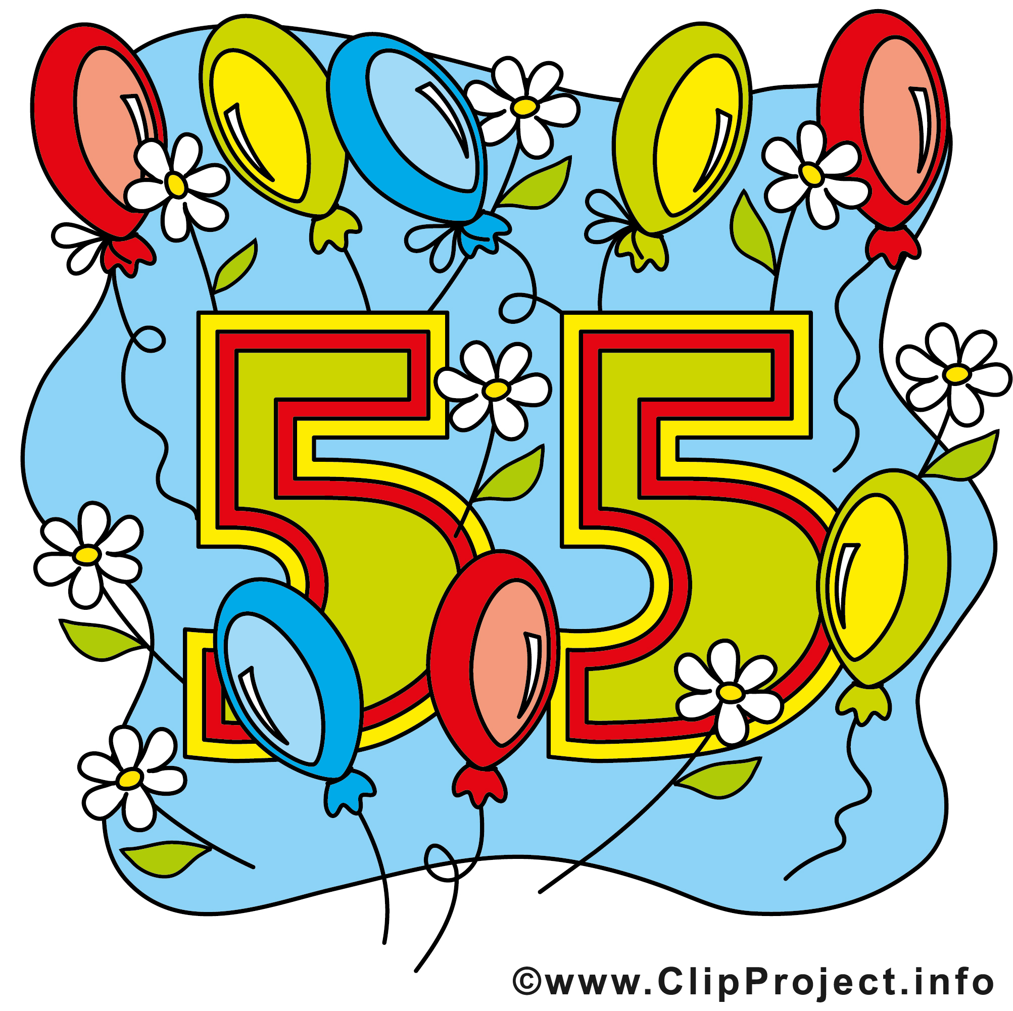 55 Jahre Cliparts free.