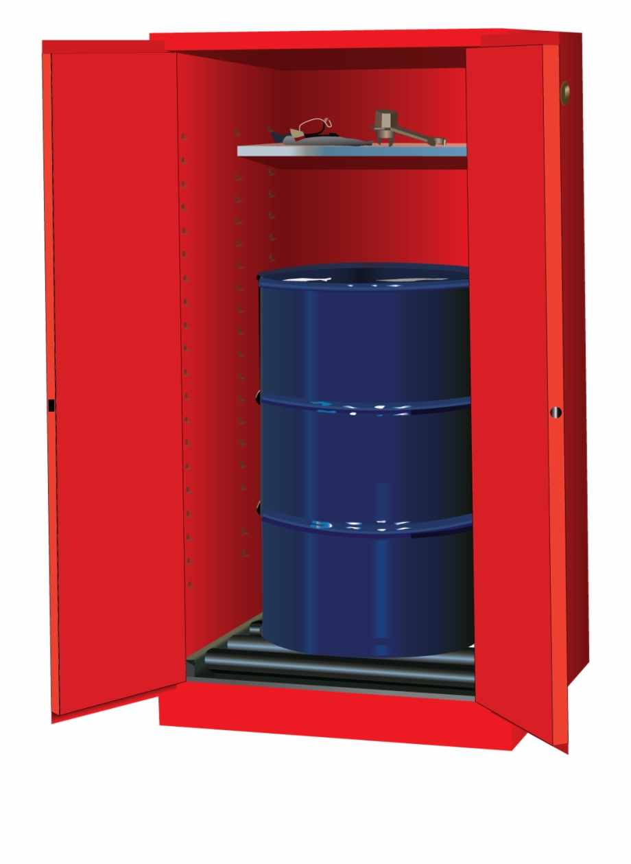 Sure Grip® Ex Vertical Drum Safety Cabinet And Drum.