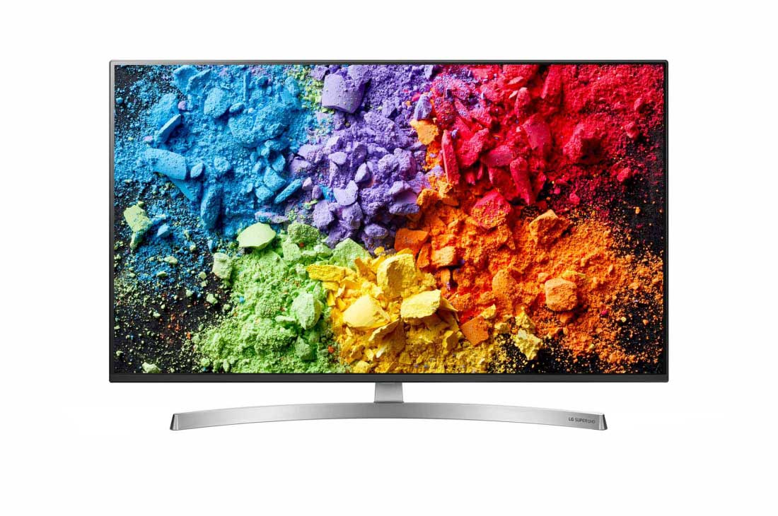 LG 55 Inch 4K Nano Cell TV with Dolby Atmos.