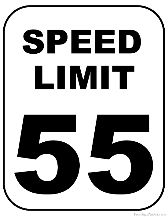 Speed Limit Signs Pictures.
