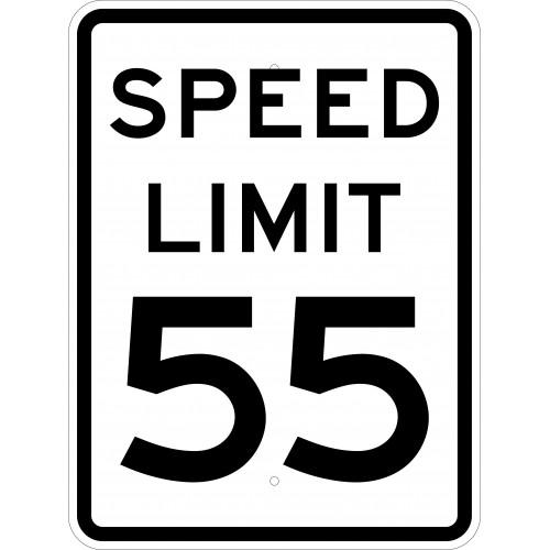 Speed Limit Sign 12 x 18.