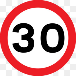 Speed Limit PNG.