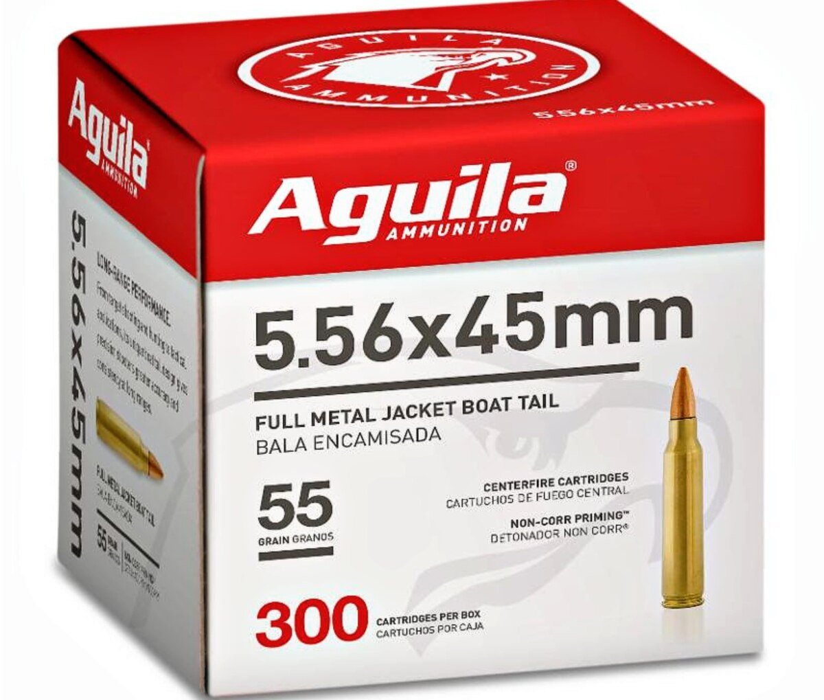 Aguila Ammunition brings bulk 5.56 rifle ammo to US shooters.