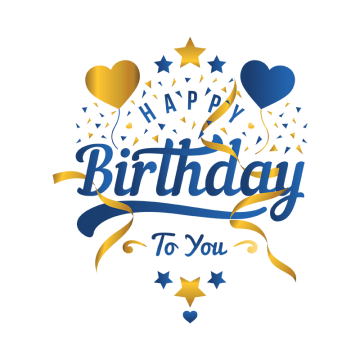 55th birthday clipart transparent clipart images gallery for.