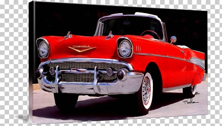 1957 Chevrolet Chevrolet Bel Air Antique car, 57 chevy PNG.