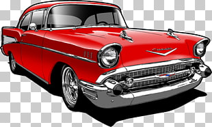 52 1957 Chevrolet PNG cliparts for free download.