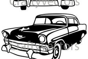 57 chevy clipart » Clipart Station.