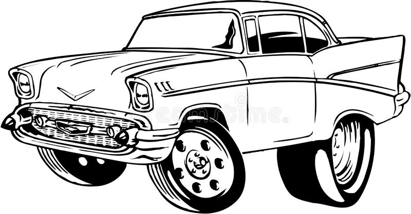Chevy Stock Illustrations.