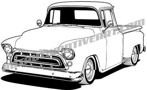 1957 pickup truck.