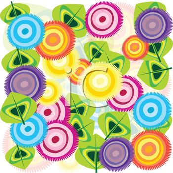 Abstract design clip art.
