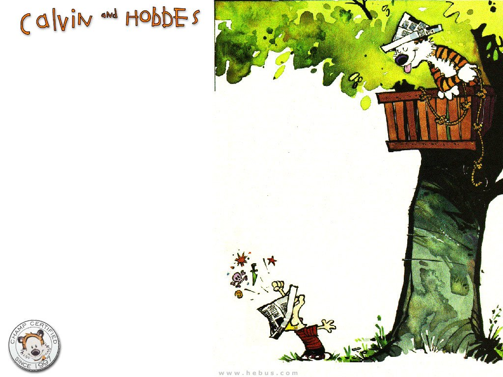 221 Calvin & Hobbes HD Wallpapers.