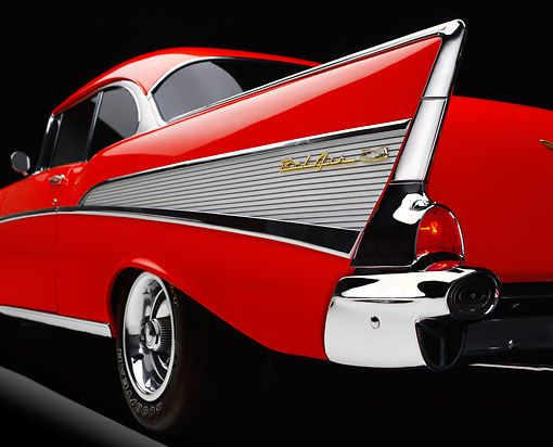 1957 Chevy Bel Air Tail Fin..