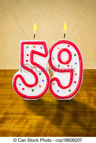 The Number 59 Clipart.