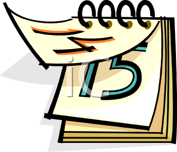 Find Clipart Calendar Clipart Image 25 Of 59 #YrqZn4.