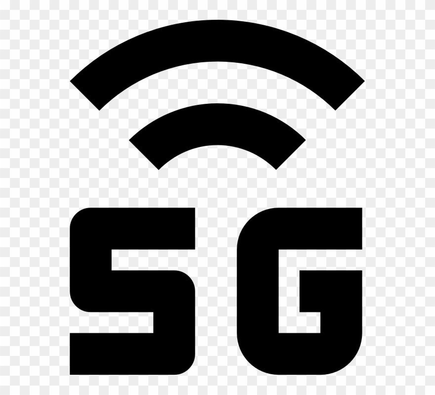 Icon Of 5g Signal Strength.