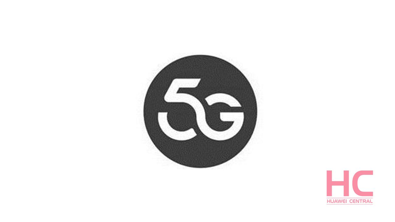 Huawei registers a new 5G logo trademark.
