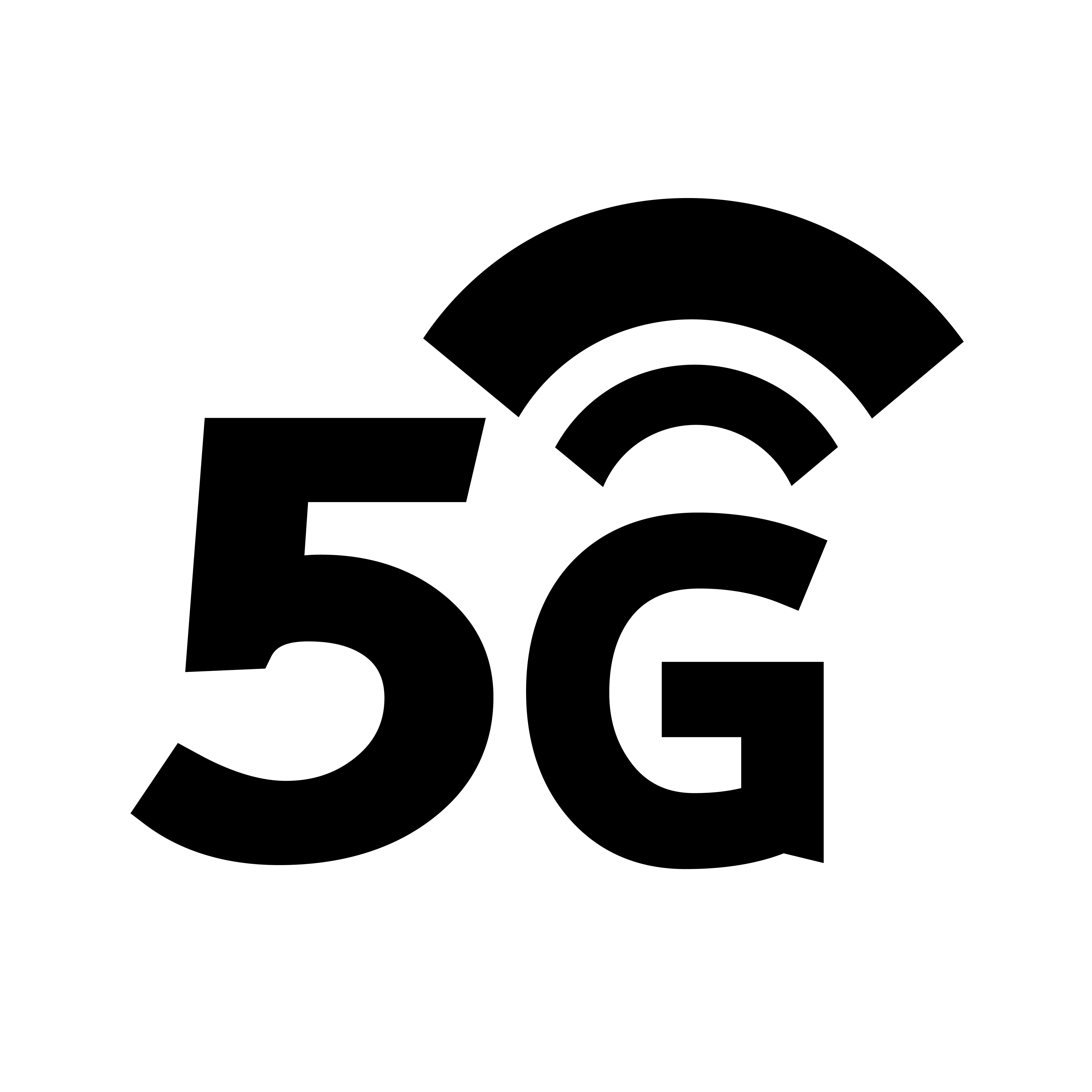 5g Network Free Vector Art.