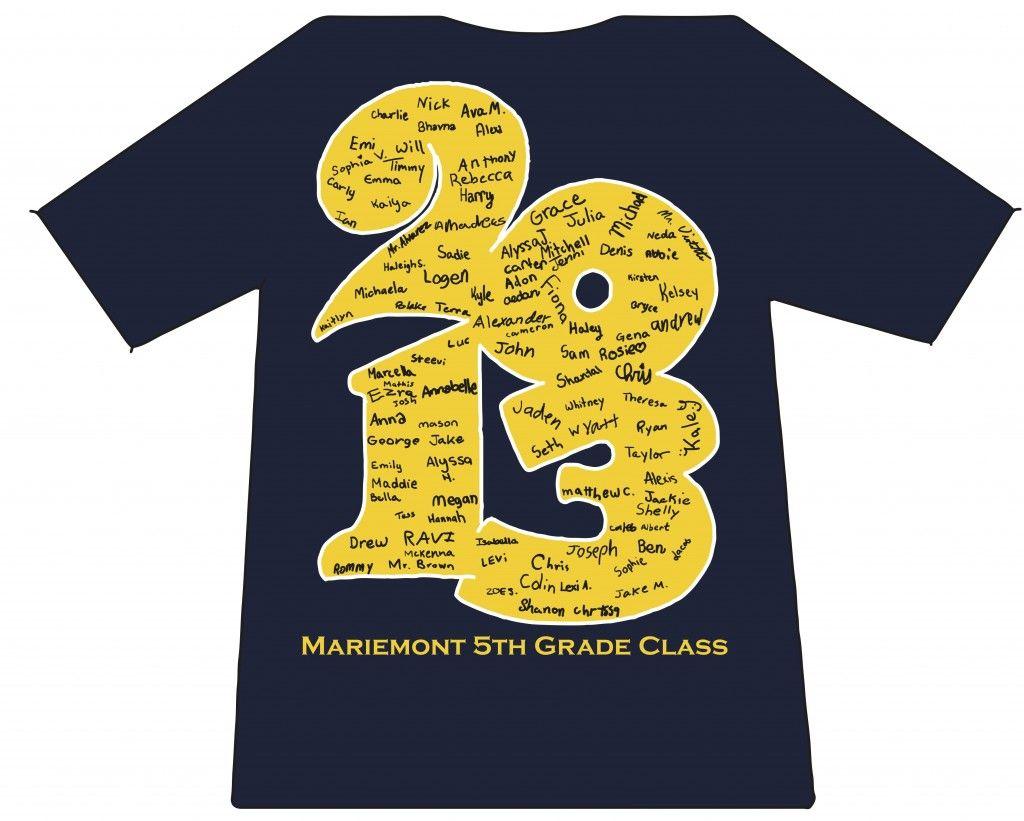 5th class shirts.