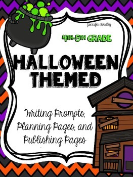 Halloween Common Core Writing: Opinion, Informative, and Narrative Writing.