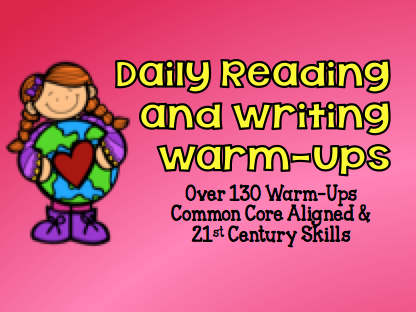 Daily Reading and Writing Warm.