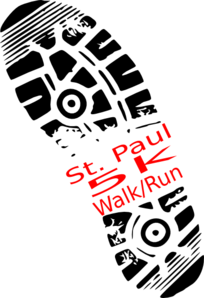 St. Paul 5k Run Clip Art at Clker.com.