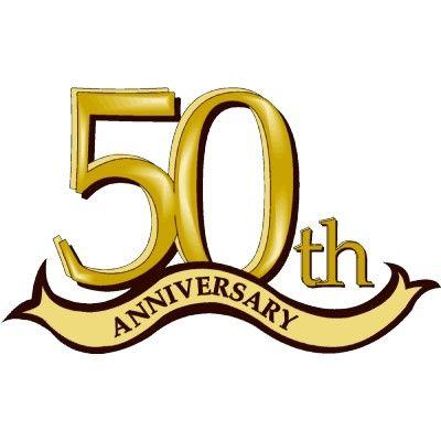 50 th anniversary.