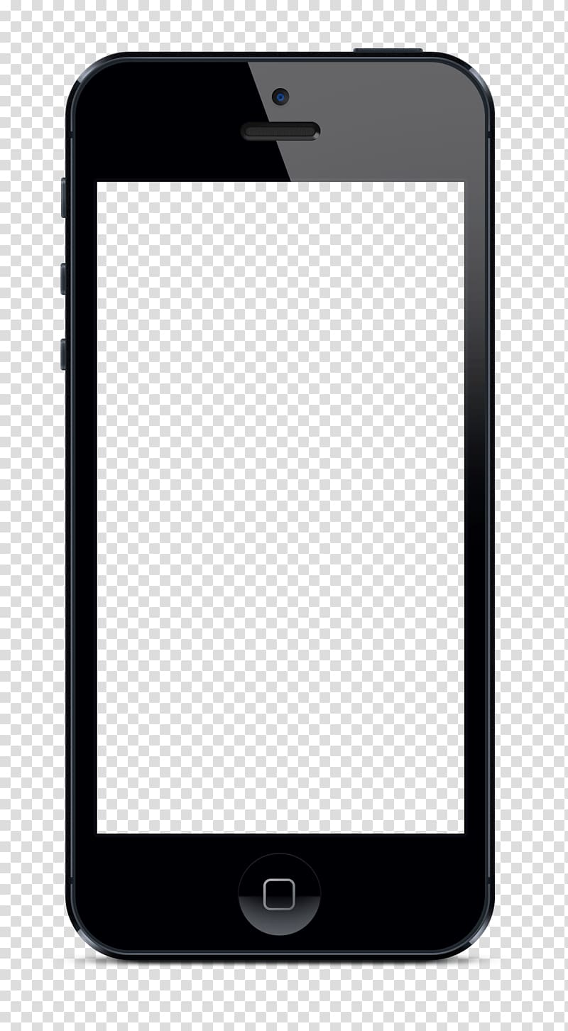 Black iPhone 5 illustration, iPhone 4S iPhone 6 Plus iPhone.