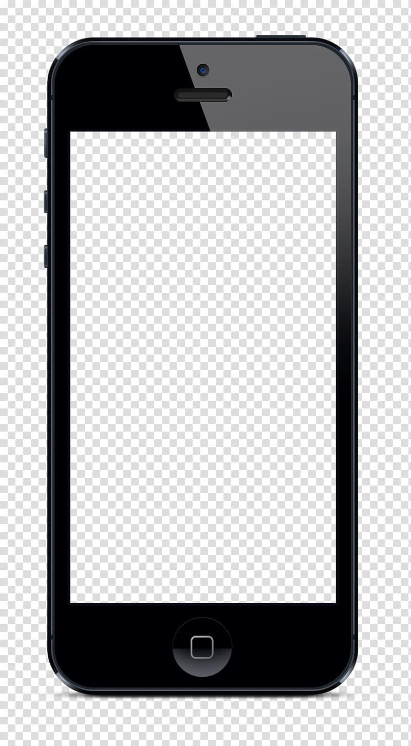 Black iPhone 5 illustration, iPhone 4S iPhone 6 Plus iPhone.