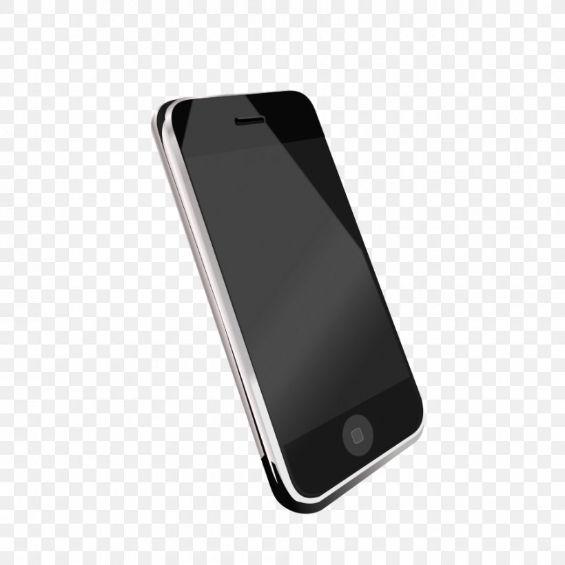 IPhone 5s Smartphone Telephone Clip Art, PNG, 900x900px.