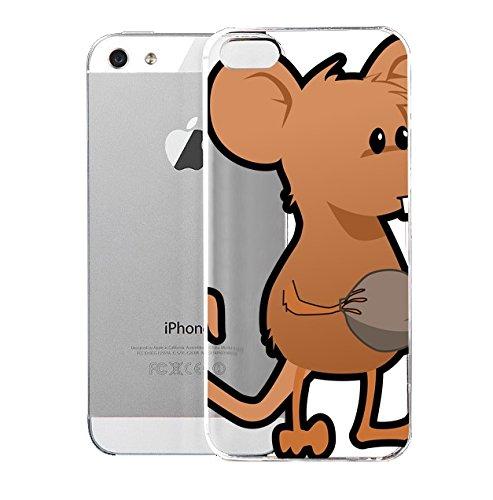 Amazon.com: iPhone 5S Case Mouce Mouce Clip Art Black And.