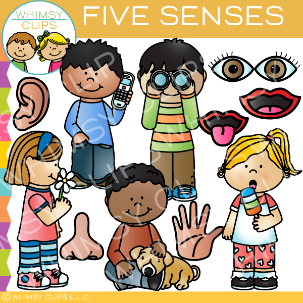Five Senses Clip Art.