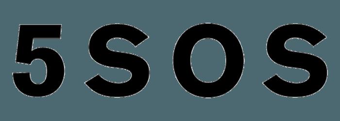 5 Seconds of Summer Logo.