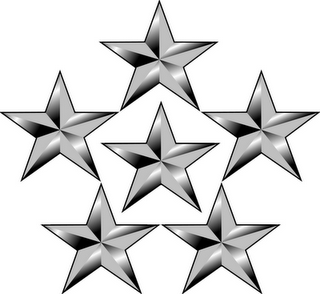 General of the Armies Insignia 5 Stars.