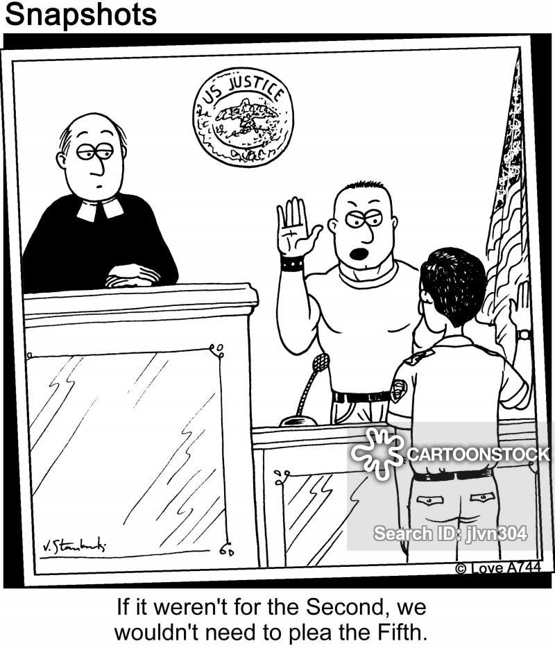 Fifth Amendment Cartoons and Comics.