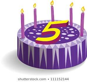 5th birthday cake clipart 6 » Clipart Portal.