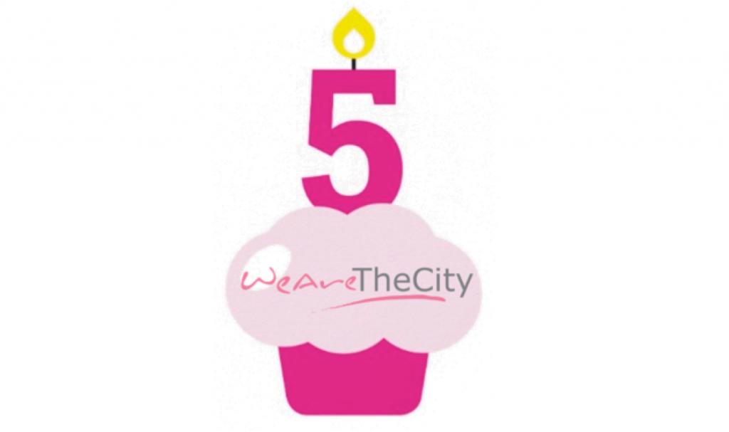 Happy 5th Birthday to WeAreTheCity.com.