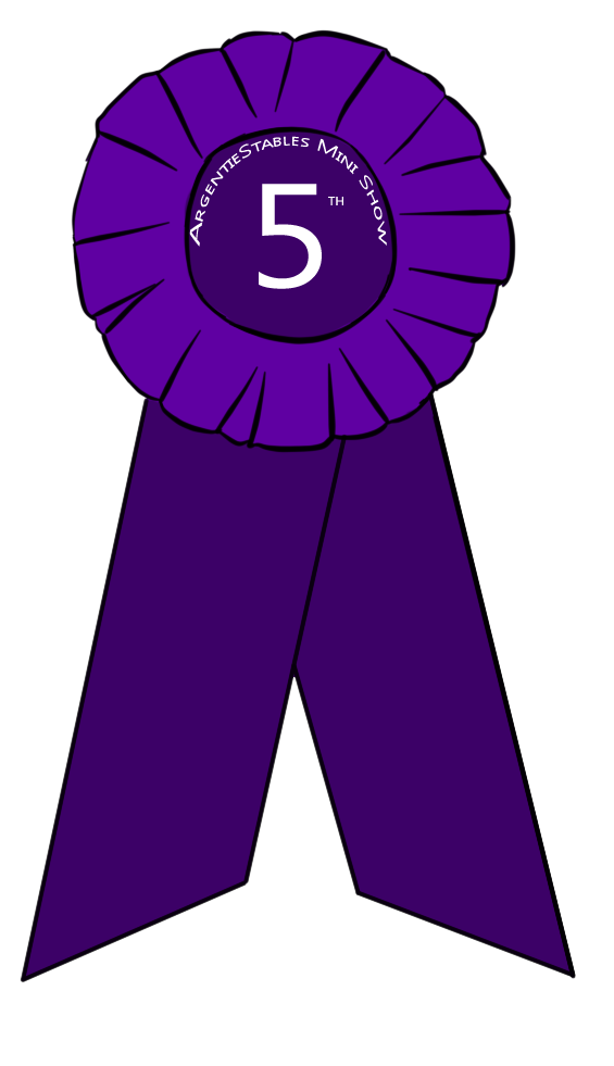 5th Place Ribbon Clipart.