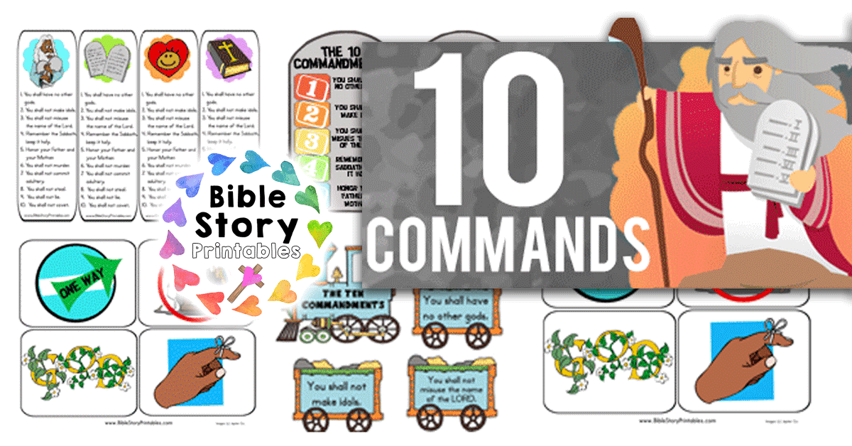 Ten Commandments for Kids.