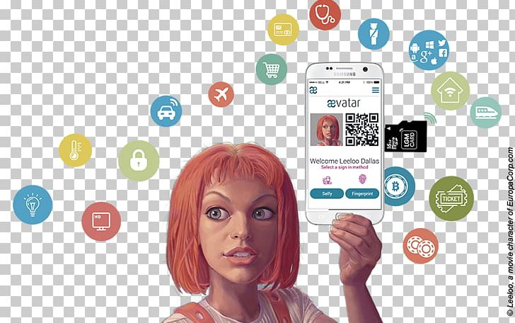 The Fifth Element Leeloo Identity Document World Person PNG.
