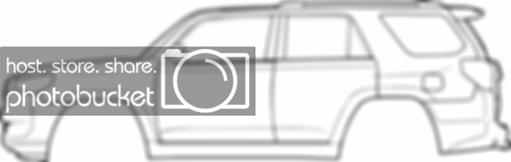 Looking for 4runner outline/silhouette.