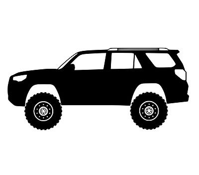 sticker for toyota 4runner vinyl decal cool stickers fits.