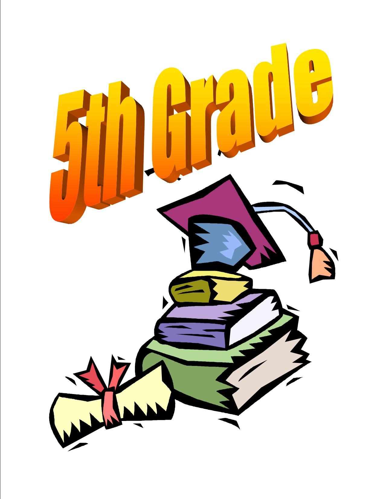 5th Grade Clip Art free image.